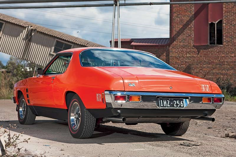 holden hj monaro rear