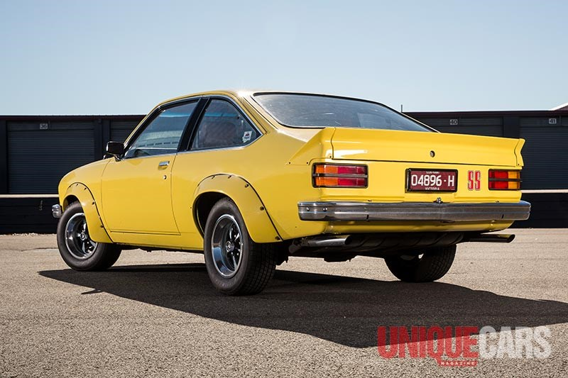 holden torana a9x rear
