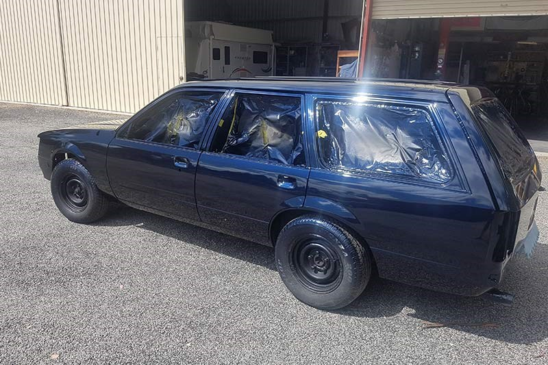 holden vh commodore wagon resto 3