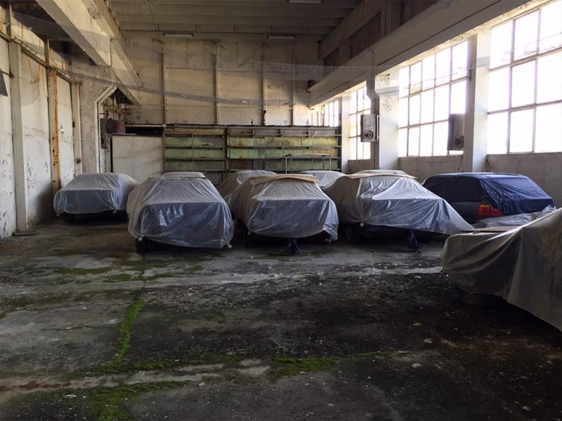 BMW E34 Barn Find group covers
