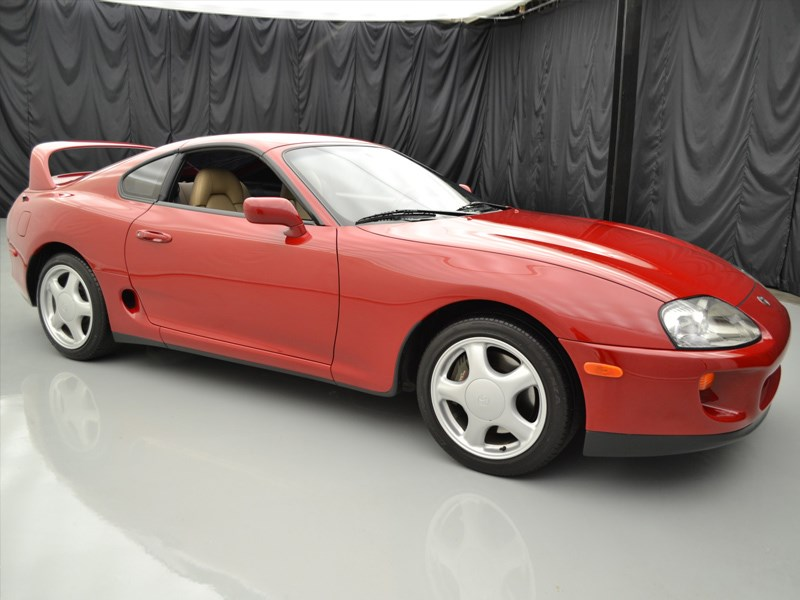 Toyota Supra sells for 170k front side