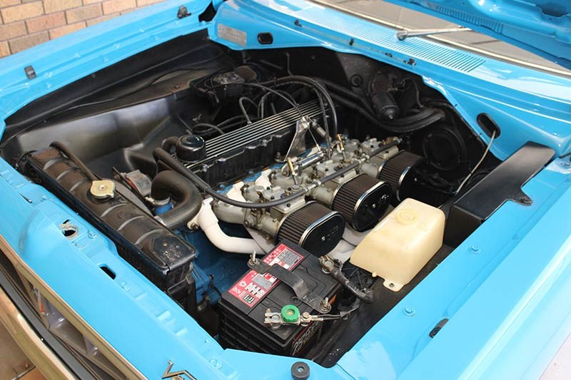 chrysler valiant charger engine bay 2