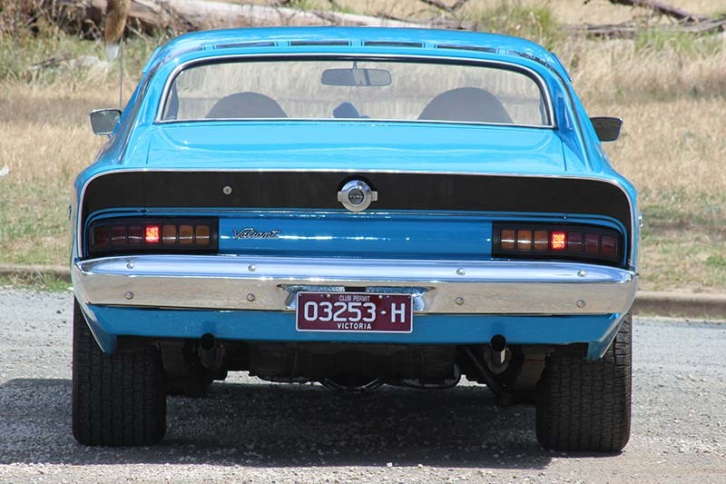chrysler valiant charger rear