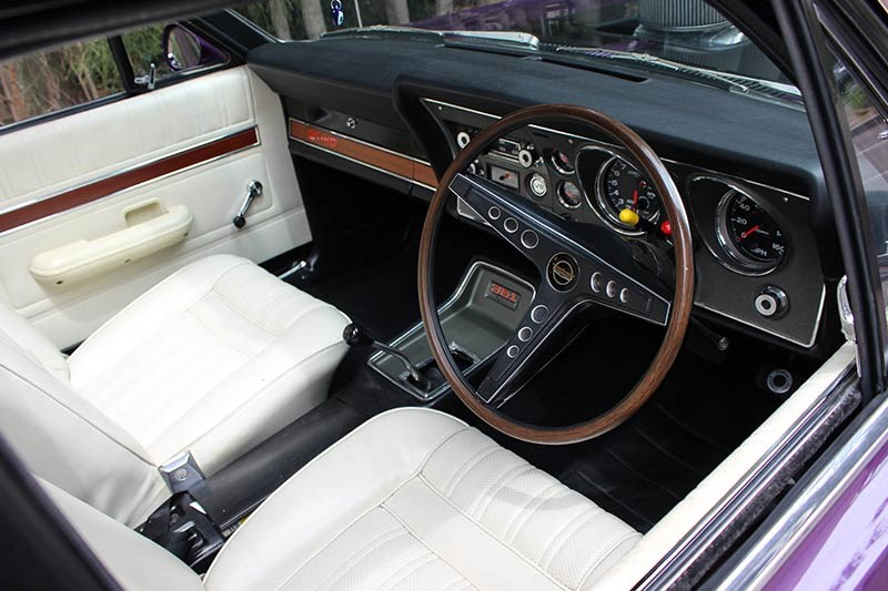 ford falcon gtho interior