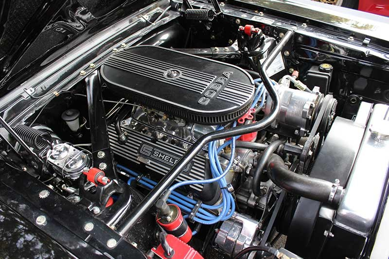 ford shelby mustang engine