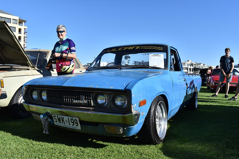 All Japan Day Datsun ute