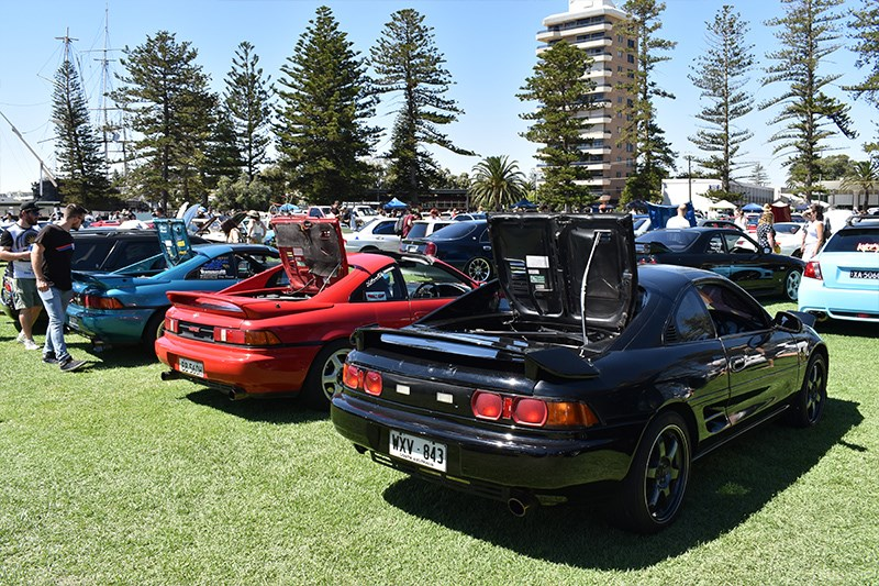 All Japan Day Toyota MR2s