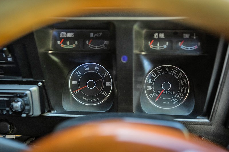 ford falcon dash
