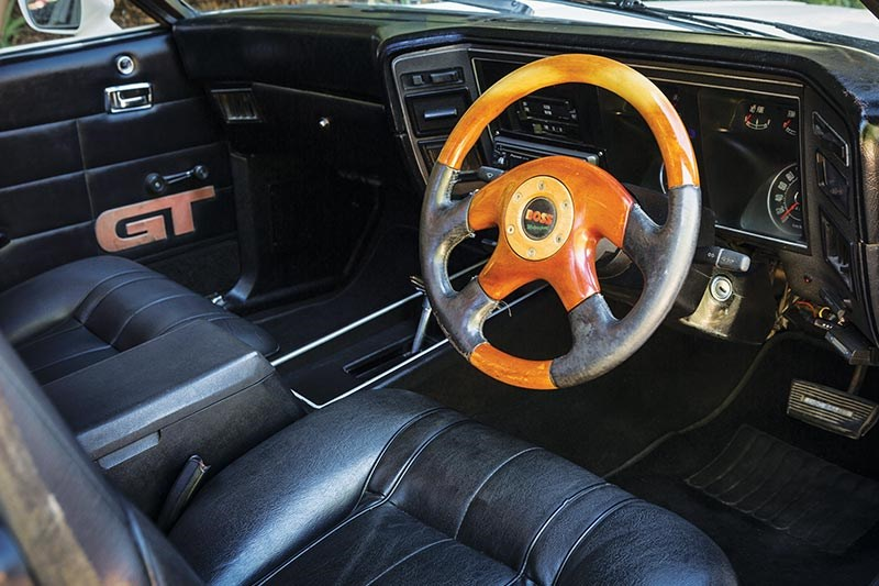 ford falcon interior