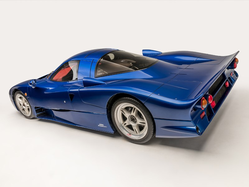 Nissan R390 road blue rear