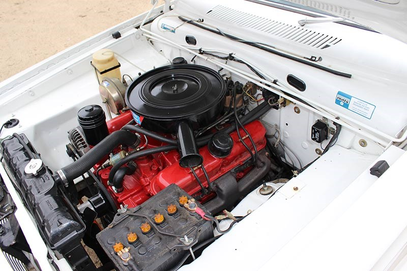 chrysler wayfarer ap6 ute engine bay 2