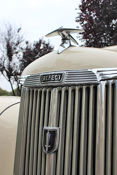 ford prefect grille