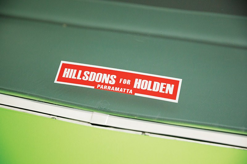 holden hq sticker