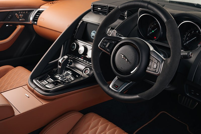 jaguar f type svr interior