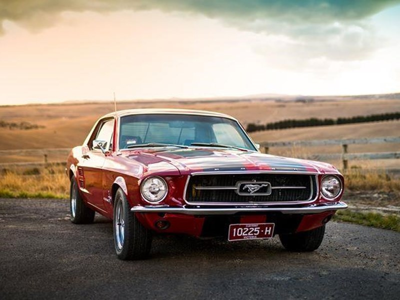 1967 Ford Mustang Tempter