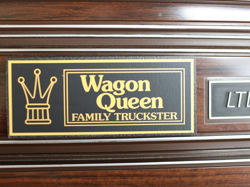 Family Truckster wagon queen plaque