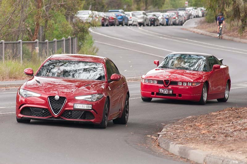 alfa romeo giulia and sz 2