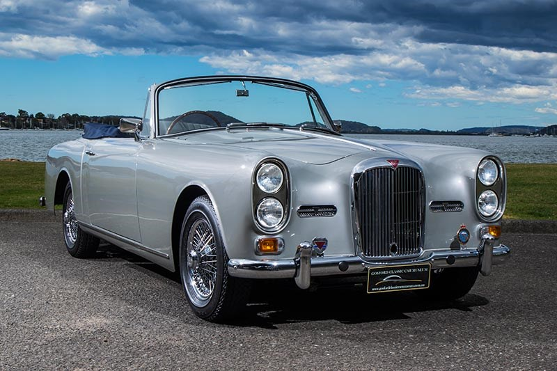 alvis drophead coupe 10