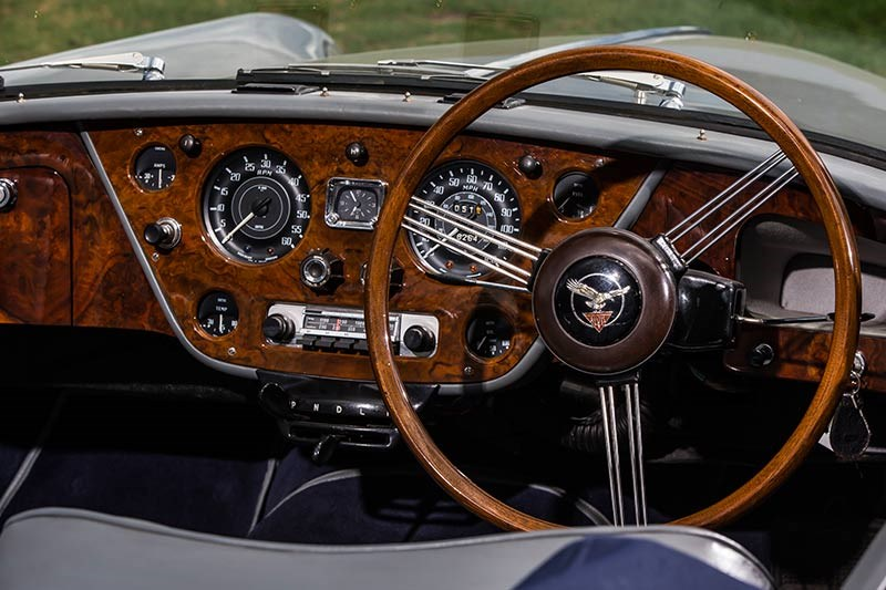 alvis drophead coupe dash