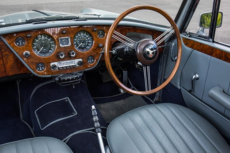 alvis drophead coupe dash 5