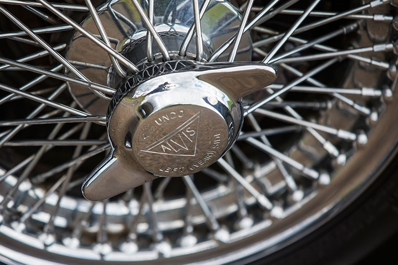 alvis drophead coupe wheel 2