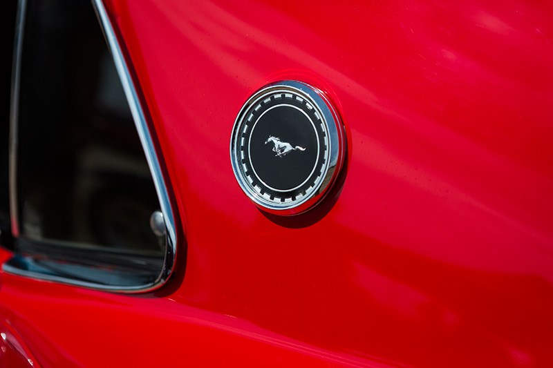 ford mustang mach 1 badge