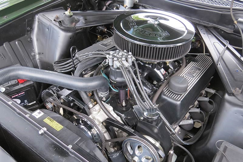 ford mustang mach 1 engine 3