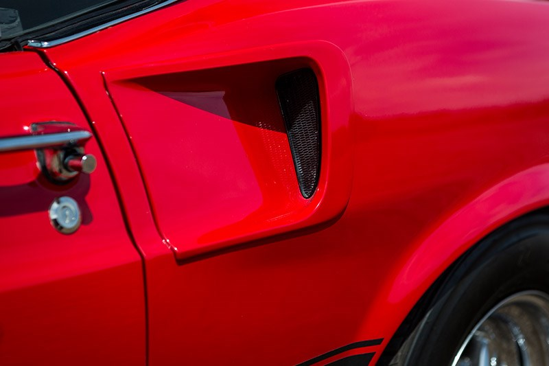 ford mustang mach 1 vent