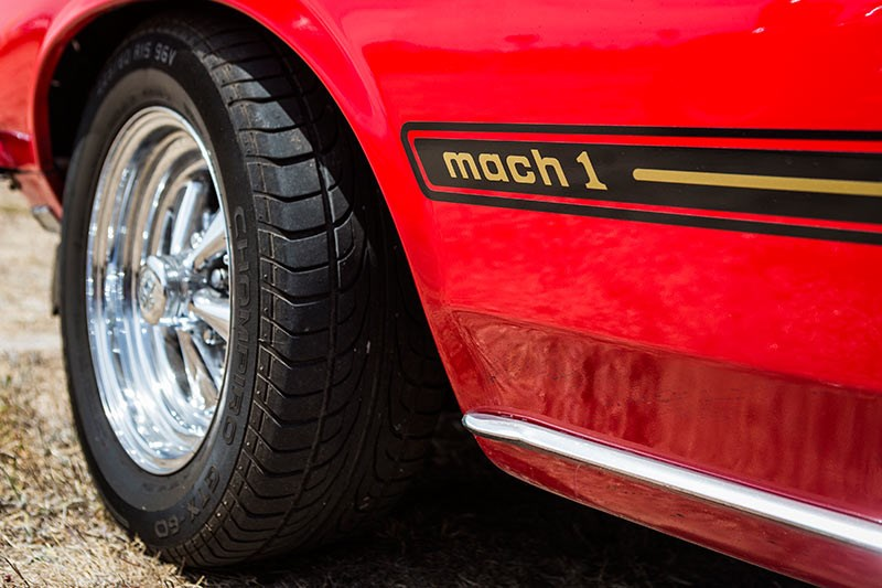 ford mustang mach 1 wheel