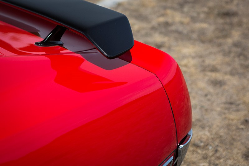 ford mustang mach 1 wing