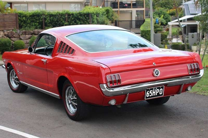 ford mustang rear