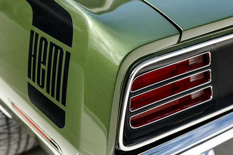 plymouth cuda tail light