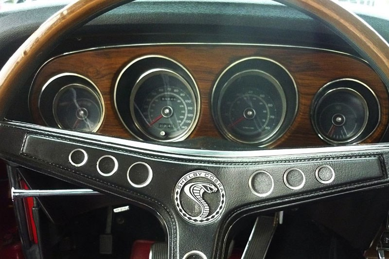 shelby mustang dash 2