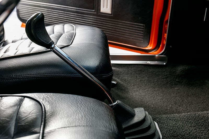 valiant charger gearstick