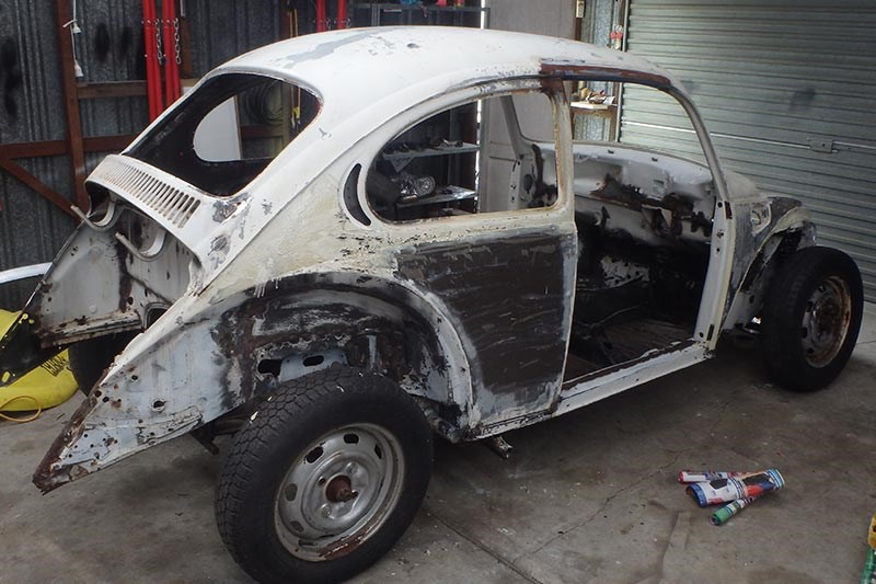 vw beetle build 4