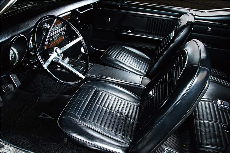 1st two firebirds coupe interior