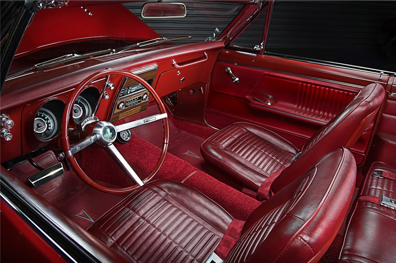 1st two firebirds ragtop interior
