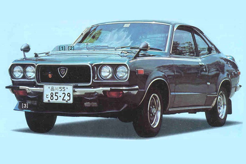 mazda rx3 press shot 3