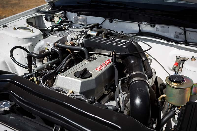 nissan skyline engine bay 2