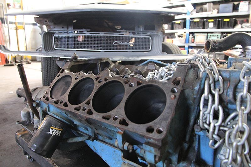 project challenger engine block