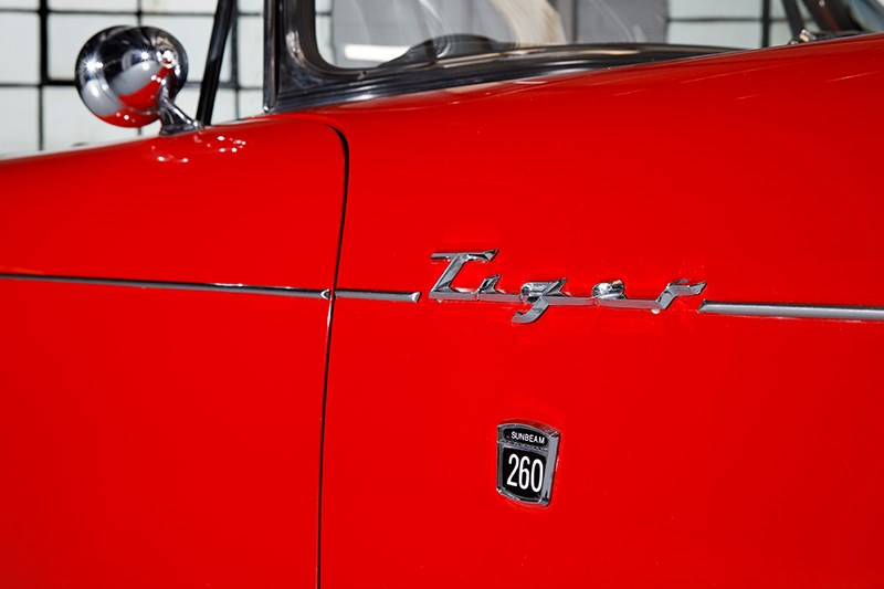 sunbeam tiger badge