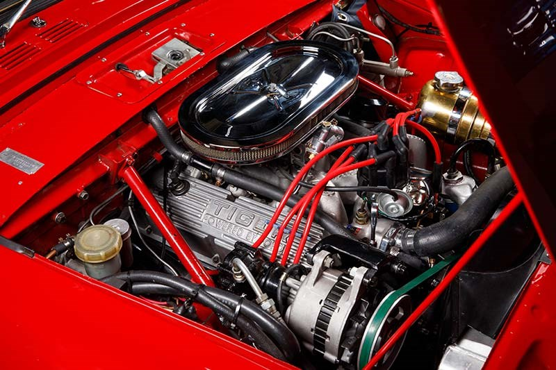 sunbeam tiger engine bay