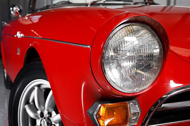 sunbeam tiger headlight