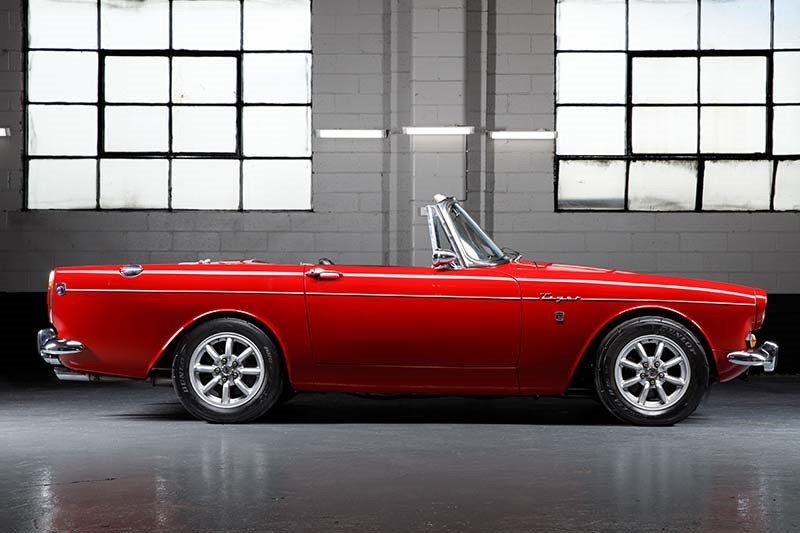 sunbeam tiger side