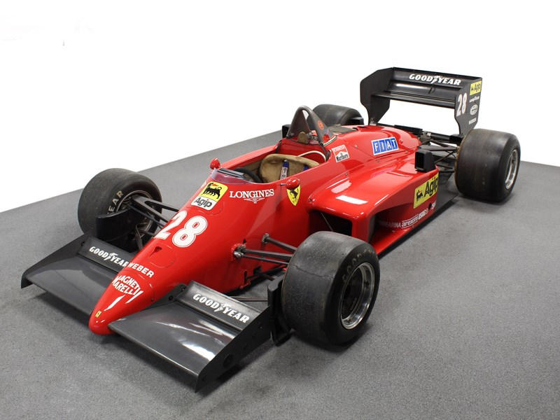 85 F1 Ferrari for sale front quarter high