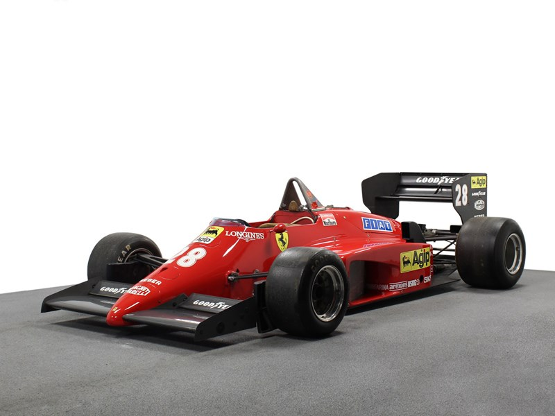 85 F1 Ferrari for sale front