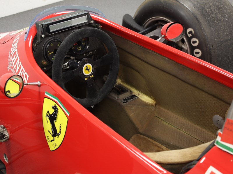 85 F1 Ferrari for sale interior