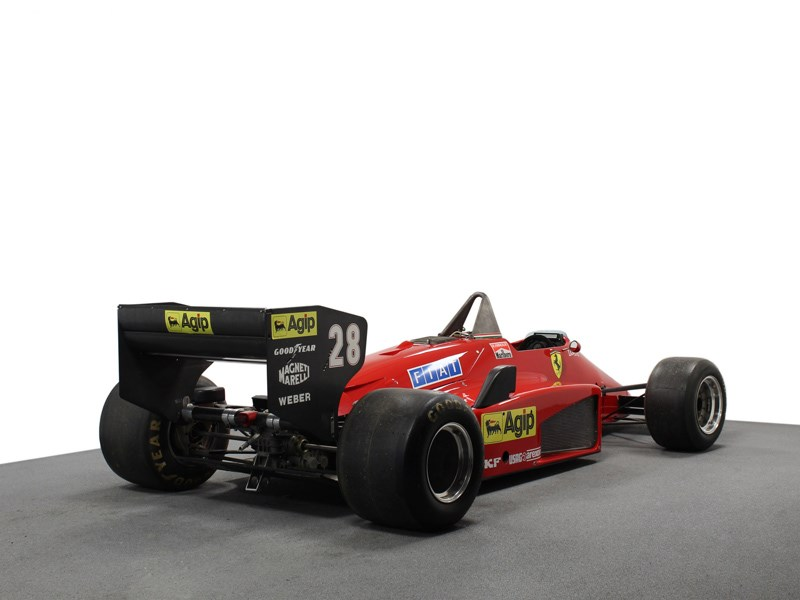 85 F1 Ferrari for sale rear quarter