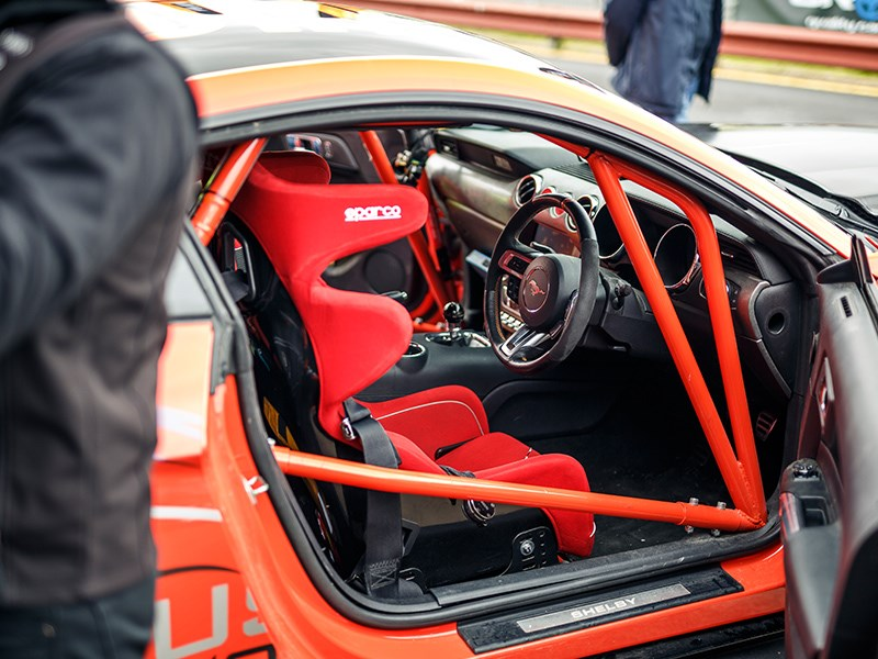MM Day race car interior