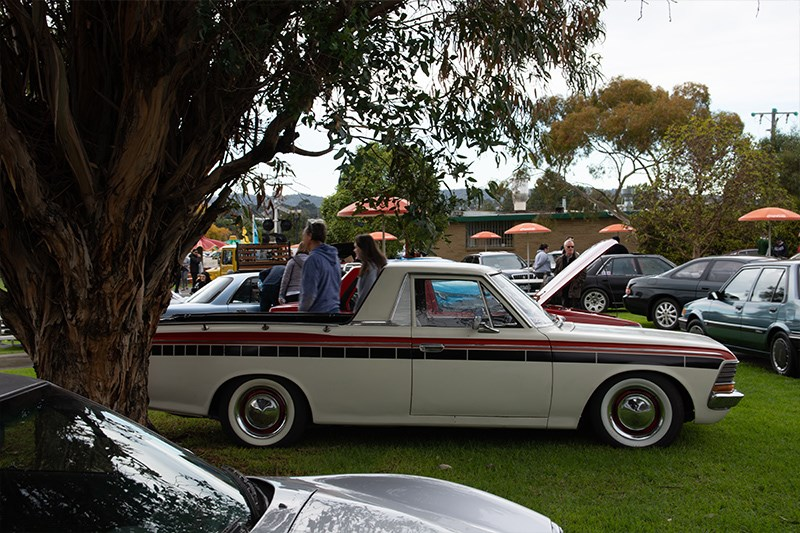 Toyota Winterfest Crown old ute